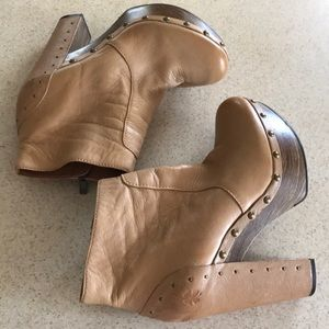 Worn once Lucky terrace booties